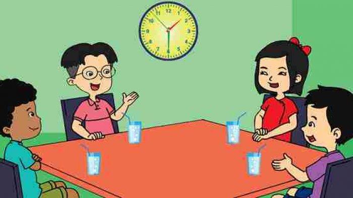 Kunci jawaban tema 8 kelas 2 SD/MI mengenai percakapan