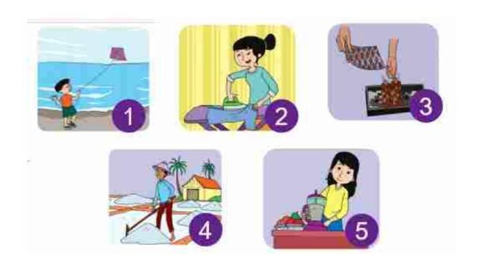 KUNCI JAWABAN Tema 9 Kelas 4 SD Hal 16-20, Amati Aktivitas Keluarga yang Menggunakan Sumber Energi