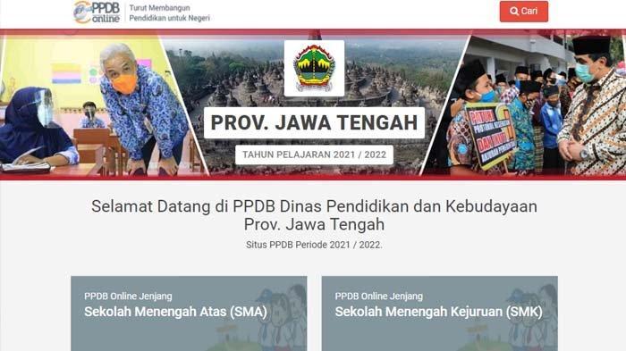 HARI INI Senin 28 Juni Daftar Ulang PPDB Jateng 2021 Jenjang SMA/SMK, Perhatikan Syarat-syaratnya!
