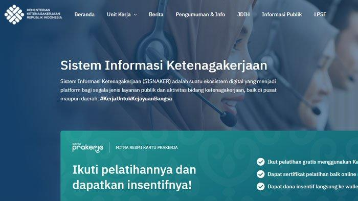 Akses Kemnaker.go.id atau WA ke 081380070175 untuk Cek Penerima BSU Rp 1 Juta, Berikut Caranya