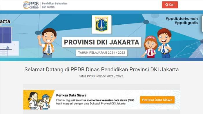 Pendaftaran PPDB SMP Jakarta 2021 Tahap 2 Dibuka 5 Juli, Akses ppdb.jakarta.go.id, Simak Jadwalnya