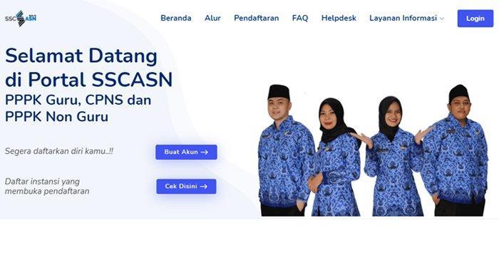 Panduan Membuat Akun untuk Daftar CPNS dan PPPK 2021, Akses Laman Resmi sscasn.bkn.go.id