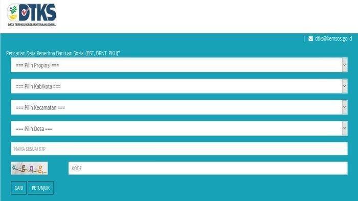 Cek Penerima BLT Rp 300 Ribu di Juni 2021, Akses Laman cekbansos.kemensos.go.id, Berikut Caranya