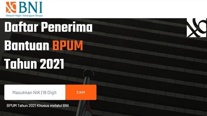 CEK Penerima BLT UMKM Rp 1,2 Juta, Akses 2 Website Ini, eform.bri.co.id/bpum atau banpresbpum.id