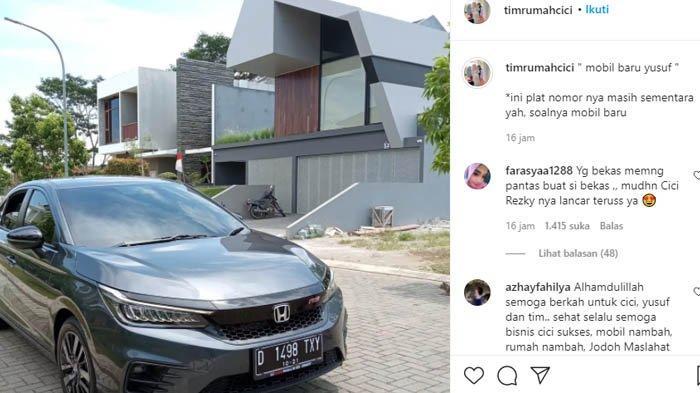 Larissa Chou beli mobil baru untuk putranya Yusuf