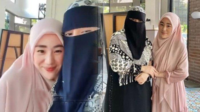 Momen Istri Kedua Ustaz Arifin Ilham Beri Dukungan Larissa Chou, Ibu Sambung Alvin: 'Dijaga Allah'