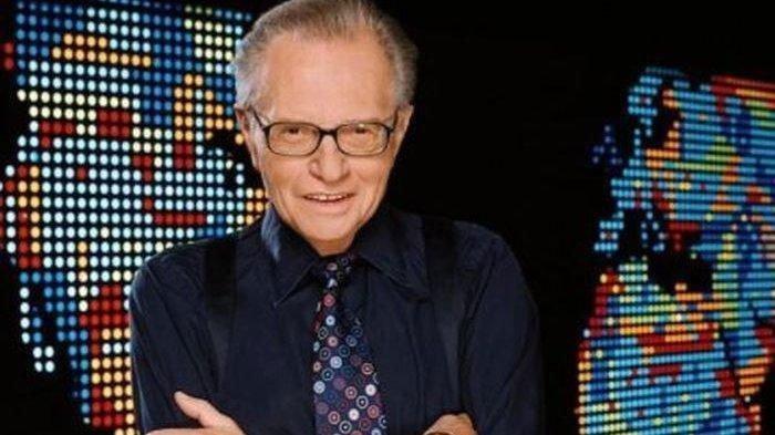 Profil Larry King, Ini Biodata Penyiar Legendaris AS, Sempat Jalani Perawatan akibat Covid-19