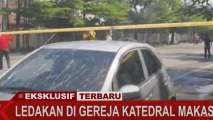 Bom di Katedral Makassar: Kronologi, Video, & Pengakuan Saksi, Pelaku Naik Motor Lalu Ledakkan Diri