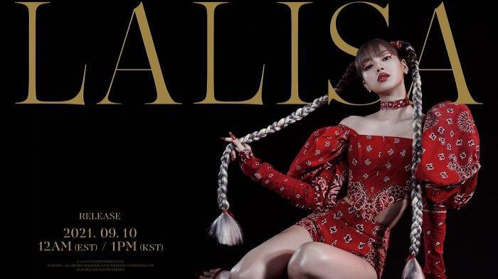 Lisa BLACKPINK rilis music video LALISA.