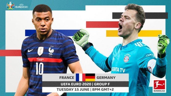 LIVE STREAMING Prancis vs Jerman Euro 2020 Super Big Match Grup F Malam Nanti Cek Link di Sini