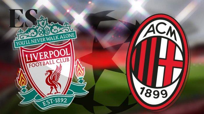 Liverpool vs AC Milan Liga Champions 2021/2022.