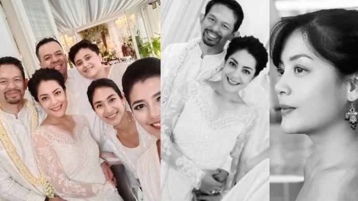 Lulu Tobing saat dinikahi <a href='https://manado.tribunnews.com/tag/bani-mulia' title='BaniMulia'>BaniMulia</a> cucu raja kapal Indonesia