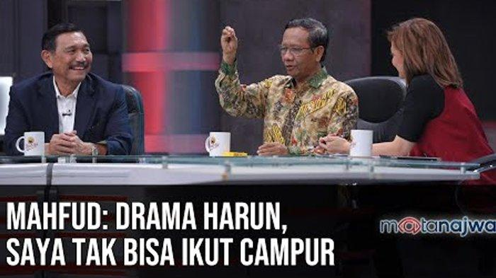 Mahfud MD Tak Mau Ikut Campur Soal Drama Yasonna Laoly & Harun Masiku: Biar Saja KPK Kejar Sendiri