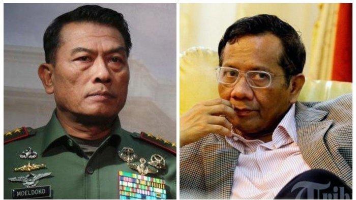 SOSOK Menteri Inisial M yang Diisukan Kena Reshuffle Jokowi, Mahfud MD / Moeldoko? Ini Bocorannya