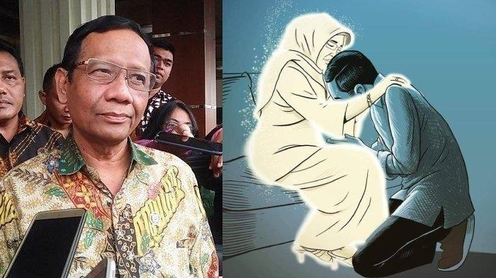 Ingin Melayat Ibunda Jokowi di Solo, Mahfud MD Berusaha Pinjam Pesawat TNI AU, tapi Ini yang Terjadi