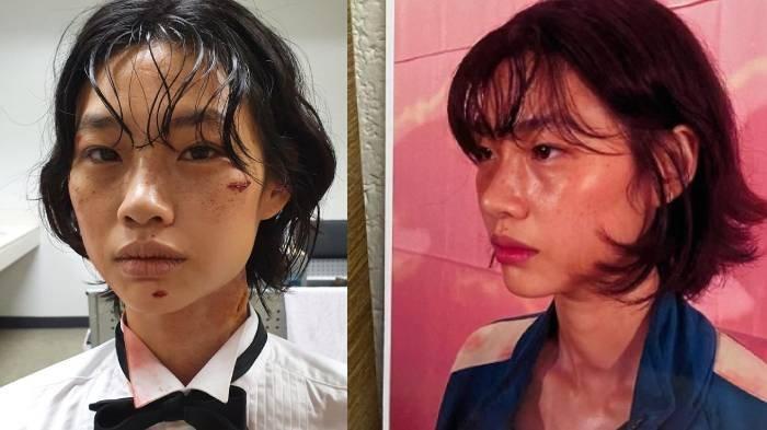 Kerennya Makeup 'Keringetan' di Seri Netflix Squid Game, Luka di Leher Dibuat dengan Cara Ini