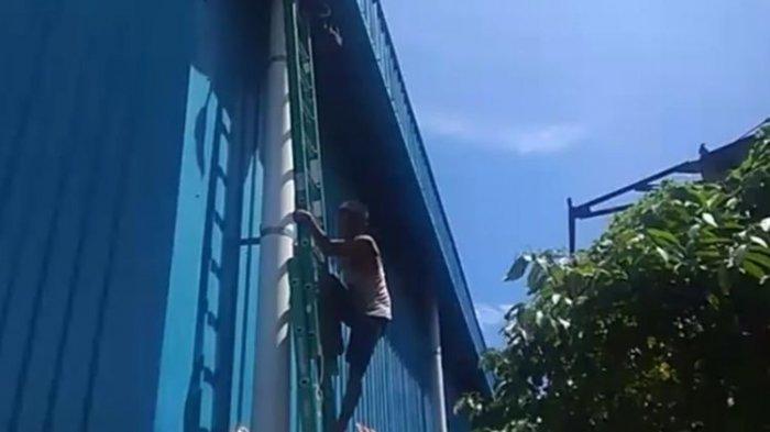 Susah Turun dari Atap, Maling di Padang Malah Minta Tolong Polisi untuk Ambil Tangga, Ini Faktanya