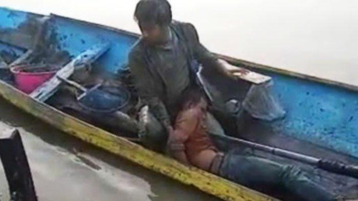 Awalnya Garang Curi Motor Lalu Lompat ke Sungai, Maling Nangis Minta Ampun Begitu Dibekuk Polisi