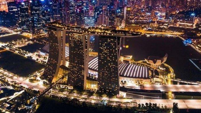 Marina Bay Sand, Singapura disebut akan berdamai dengan Covid-19, gencarkan vaksinasi