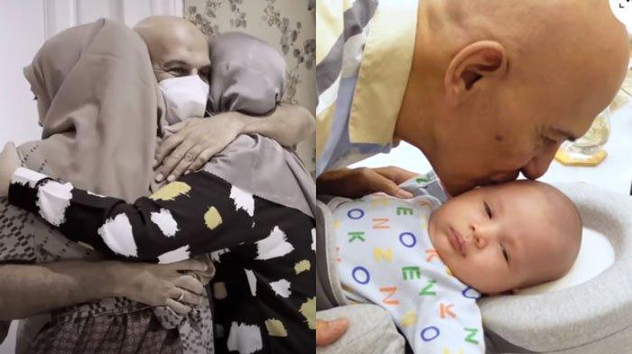 Perdana Cium Anak Zaskia dan Irwansyah, Mark Sungkar Mengaku Terharu: 'Masya Allah, Alhamdulillah'