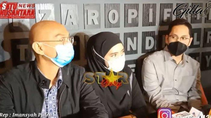 Marlina, istri siri ayah Taqy Malik mengaku dilecehkan Mansyardin Malik