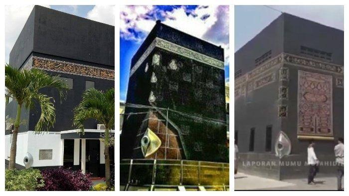 TAKJUB! Penampakan Masjid Mirip Ka'bah di Makassar, Bandung, Subang, Serasa Umroh di Tanah Suci