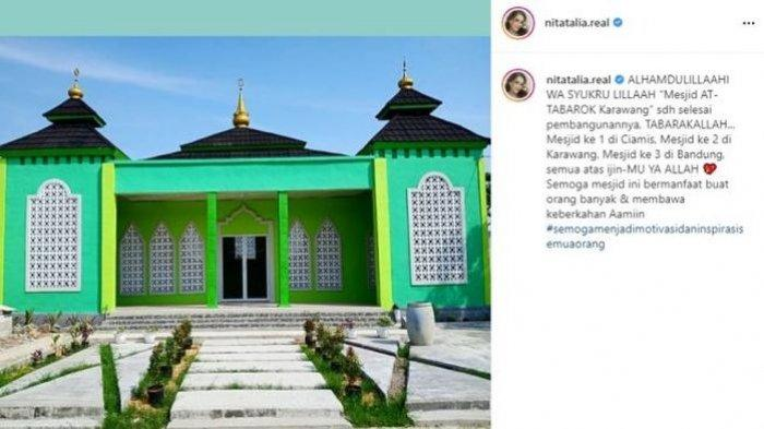 Masjid yang dibangun Nita Thalia