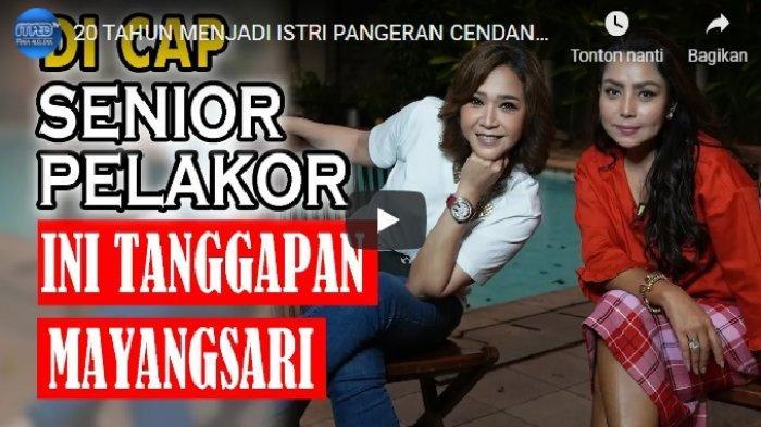Mayangsari bicara jujur pada Maia Estianty riwayat dia menikahi Bambang Trihatmodjo saat Bambang masih beristri Halimah