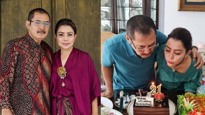 Mayangsari dan Bambang Trihatmodjo rayakan ulang tahun pernikahan ke 21
