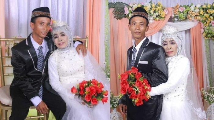 Kisahnya Viral, Simak 5 Fakta Pernikahan Mbah Gambreng, Nenek 65 Tahun dengan Pemuda 25 Tahun