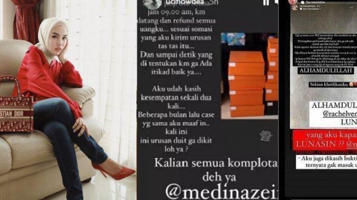 4 Sosok Ini Tagih Utang ke Medina Zein Lewat Media Sosial, Dimulai dari Rachel Vennya & Citra Kirana