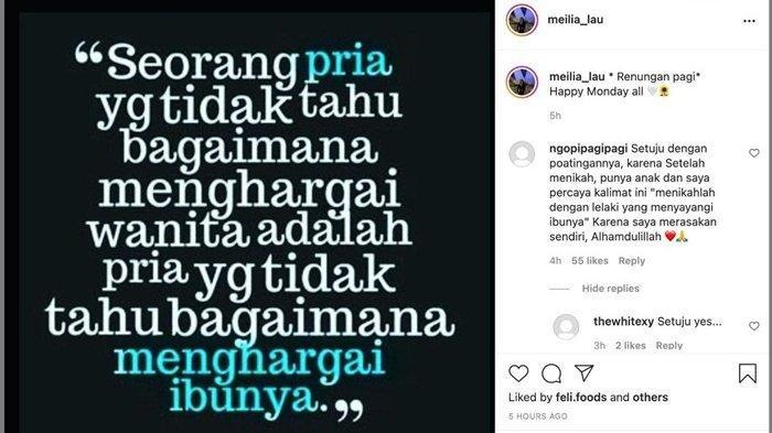 Kaesang kepergok jalan bareng Nadya Arifta, postingan Meilia Lau jadi sorotan.
