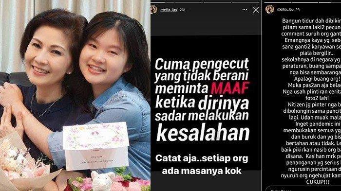 Meilia Lau Ibu Felicia Tissue Marah & Ngamuk Sindir Sosok Lelaki Pecundang hingga Piala Bergilir