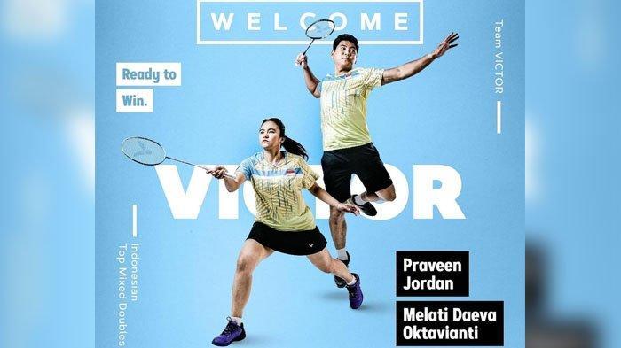 Melati Daeva Oktavianti dan Praveen Jordan wakil atlet bulutangkis Indoensia di Olimpiade Tokyo 2020