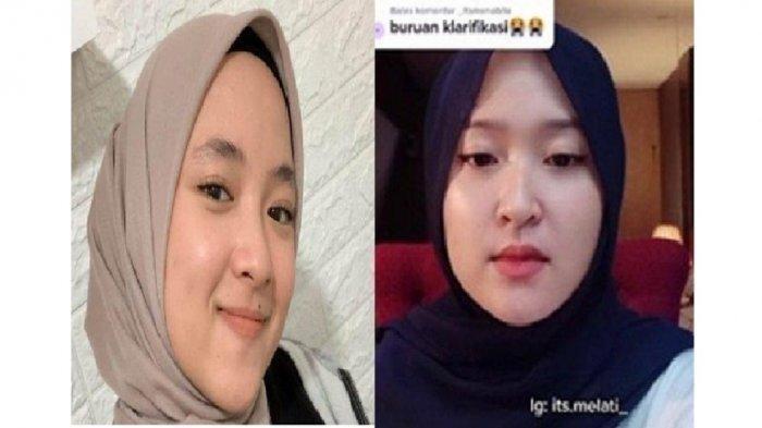 SOSOK Melati, Seleb Tiktok yang Viral karena Video Klarifikasinya, Disebut Mirip Nissa Sabyan