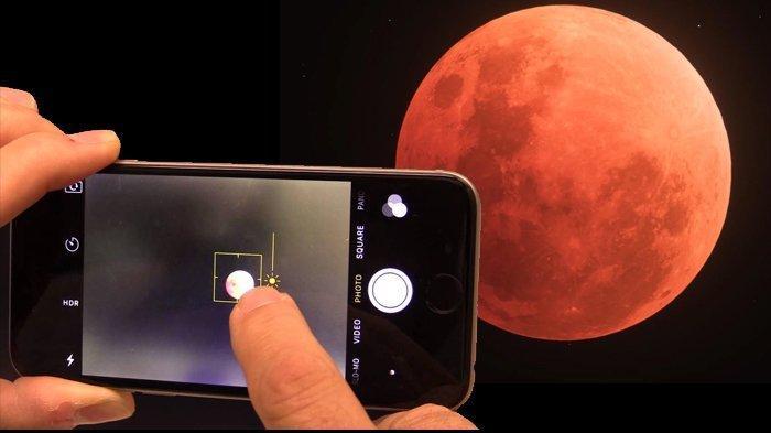 LINK Live Streaming Gerhana Bulan Total 26 Mei 2021, Super Blood Moon Tampak Lebih Besar & Merah