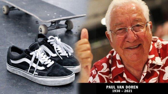Siapa Paul Van Doren? Simak Perjalanan Hidup Pencipta Brand Sepatu Vans, Meninggal di Usia 90 Tahun