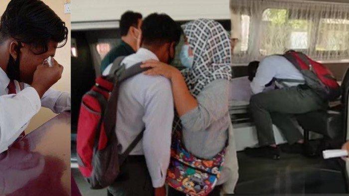 Bak Ingin Pamit & Beri Restu tuk Putranya yang Ujian, Jenazah Ayah Diantar ke Sekolah, Videonya Pilu