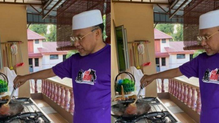 JABATANNYA Menteri, Foto Pria Ini Hobi Masak di Rumah Viral, Sering Bagi Resep Masakan di Facebook