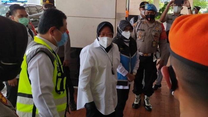Mensos Risma Dampingi Keluarga Korban Sriwijaya Air SJ 182, Lakukan Hal Ini di Beberapa Lokasi