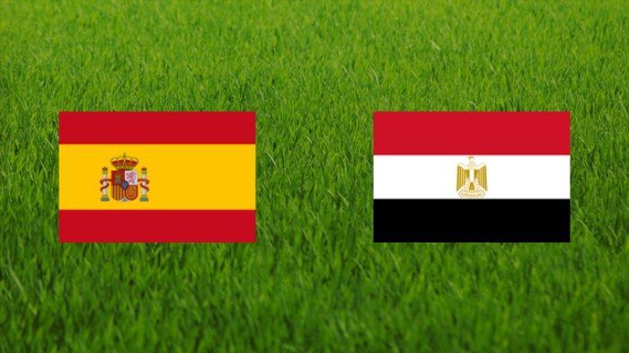 LIVE STREAMING Mesir vs Spanyol Olimpiade Tokyo 2020, Sore Ini Kick Off 14.30 WIB Live di Vidio.com