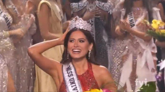 Profil Keren Andrea Meza Juara Miss Universe 2020, Model Meksiko Lulusan Insinyur Perangkat Lunak