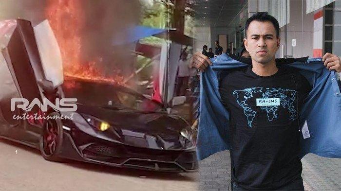 Sempat Terbakar, Ini Kondisi Lamborghini Rp 13 M Milik Raffi Ahmad, Suami Gigi Tak Terlalu Tertarik
