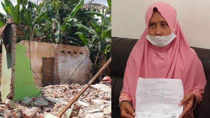 BAYAR Rp 5 Juta ke 10 Tukang, Ainun Robohkan Rumah Mantan Suami: Kok Enak Ditinggali sama Istri Baru