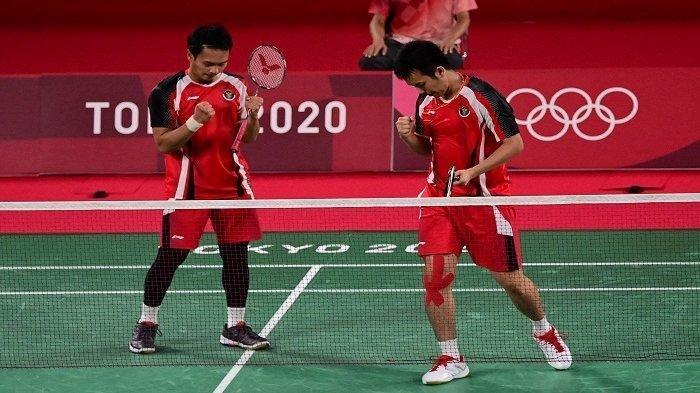 SESAAT LAGI Live Streaming Badminton Olimpiade Tokyo 2020: The Daddies Ahsan/Hendra Cek Link TVRI