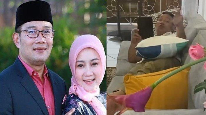 Manisnya Perlakuan Ridwan Kamil saat Atalia Praratya Isolasi Mandiri, Hibur dengan Cara Romantis Ini