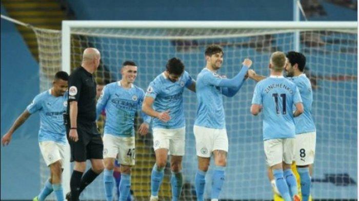 HASIL PERTANDINGAN & KLASEMEN Liga Inggris 2021 Tadi Malam, Manchester City Selangkah Lagi Juara