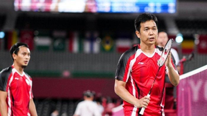Muhammad Ahsan/Hendra Setiawan sudah mengantongi dua kemenangan di Olimpiade Tokyo 2020