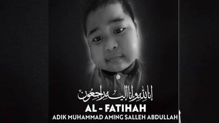 Muhammad Aming meninggal dunia , Jumat (27/8/2021)