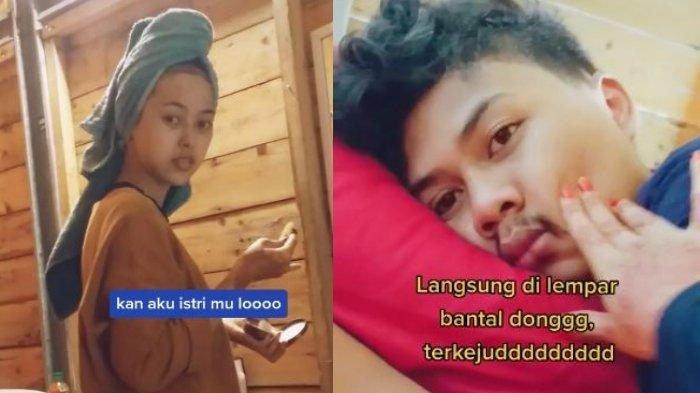 BANGUN Tidur, Pria Ini Syok Lihat Wanita Berbalut Handuk di Kamarnya, Saking Lelah Pengantin Baru